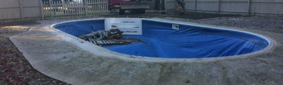 Vinyl Pool Removal Davidsonville Maryland