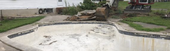 Concrete Pool Removal Eldersburg Maryland
