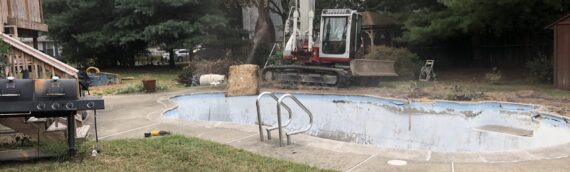 Concrete Pool Removal in Severn Maryland