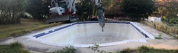 Concrete Pool Removal in Reistertown Maryland