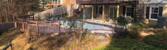 Concrete Pool Removal in Potomac Maryland