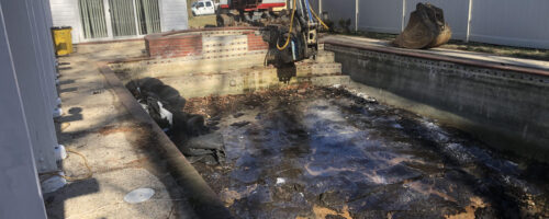 Concrete Pool Removal in Baltimore Maryland