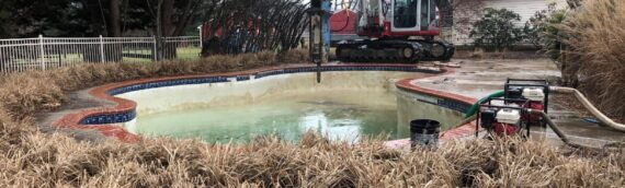 Concrete Pool Removal in Lothian Maryland