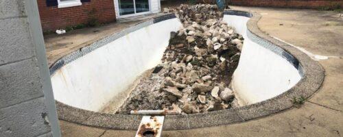 Concrete Pool Removal in Glen Burnie Maryland