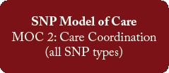 SNP Model of Care
