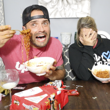 Eating the Hottest Ramen Noodles in the World!