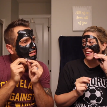 Hilarious Charcoal Face Mask Reactions!