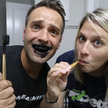 Couples Tries Charcoal Teeth Whitener – EPIC FAIL!