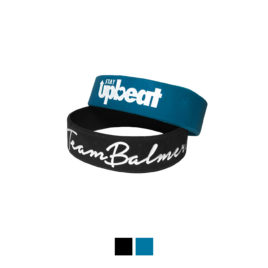 STAY UPBEAT Silicone Bracelet