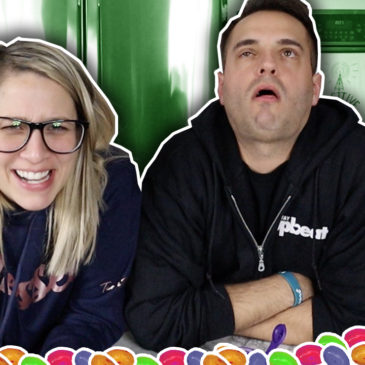 Extreme BEAN BOOZLED Challenge!  So Gross!