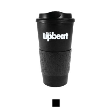STAY UPBEAT Travel Mug (16oz)