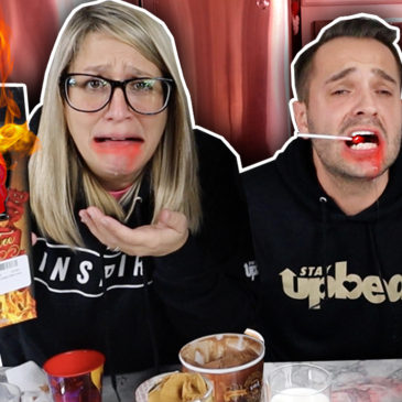 Eating the HOTTEST LOLLIPOP Gone Wrong!