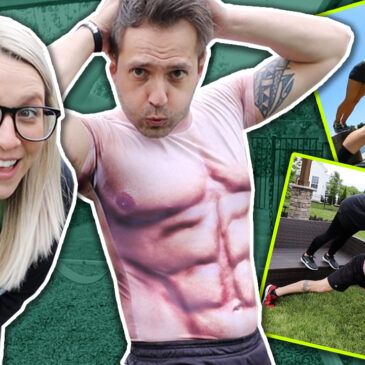 Extreme Couples Workout! *Expectations vs. Reality*