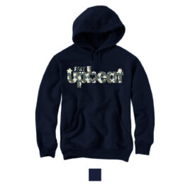 STAY UPBEAT Hoodie *Poinsettia Print*
