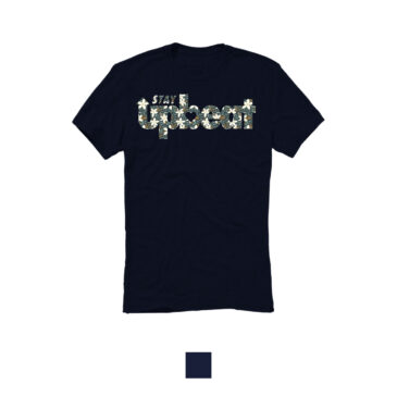 STAY UPBEAT T-Shirt *Poinsettia Print*