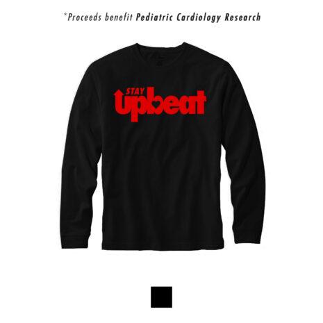 StayUpbeat_Tshirt_BlackRedLong_Preview