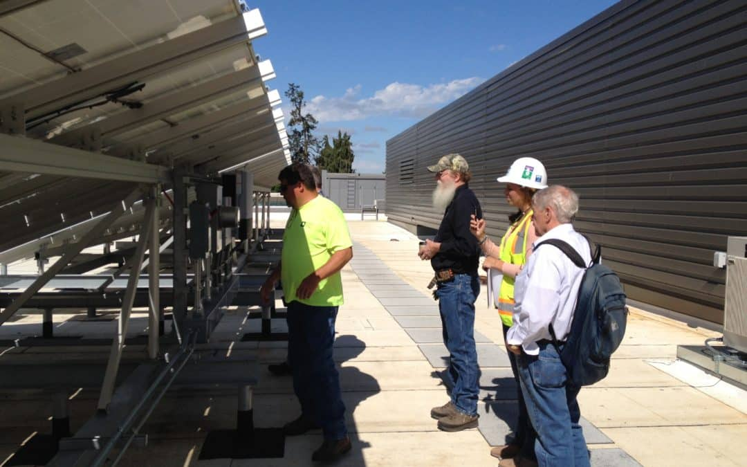 University of Oregon EMU Rebuild Gets a Solar Electric System