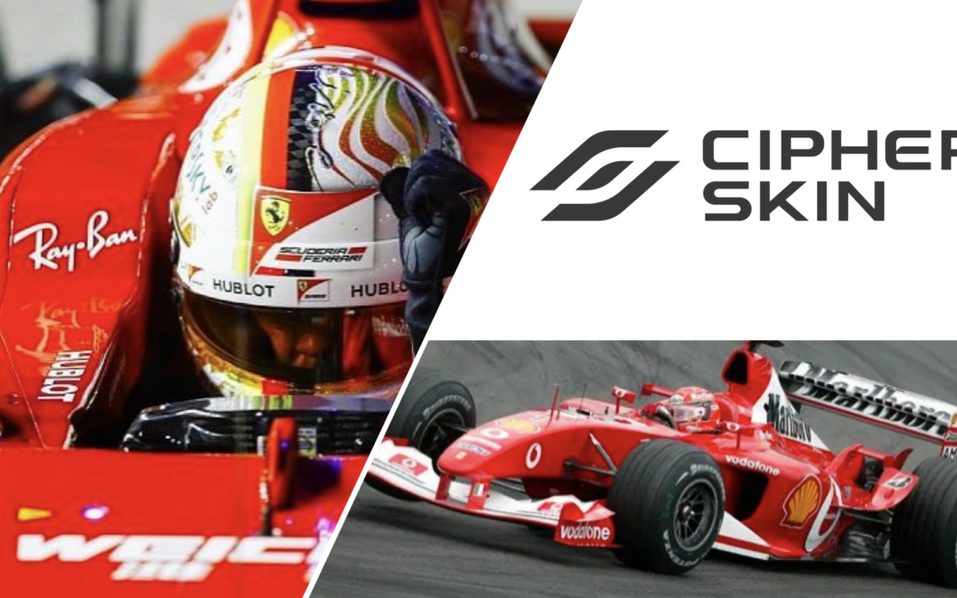 Cipher Skin & Formula 1: Monitoring the driver's body to substantially improve the team's overall performance