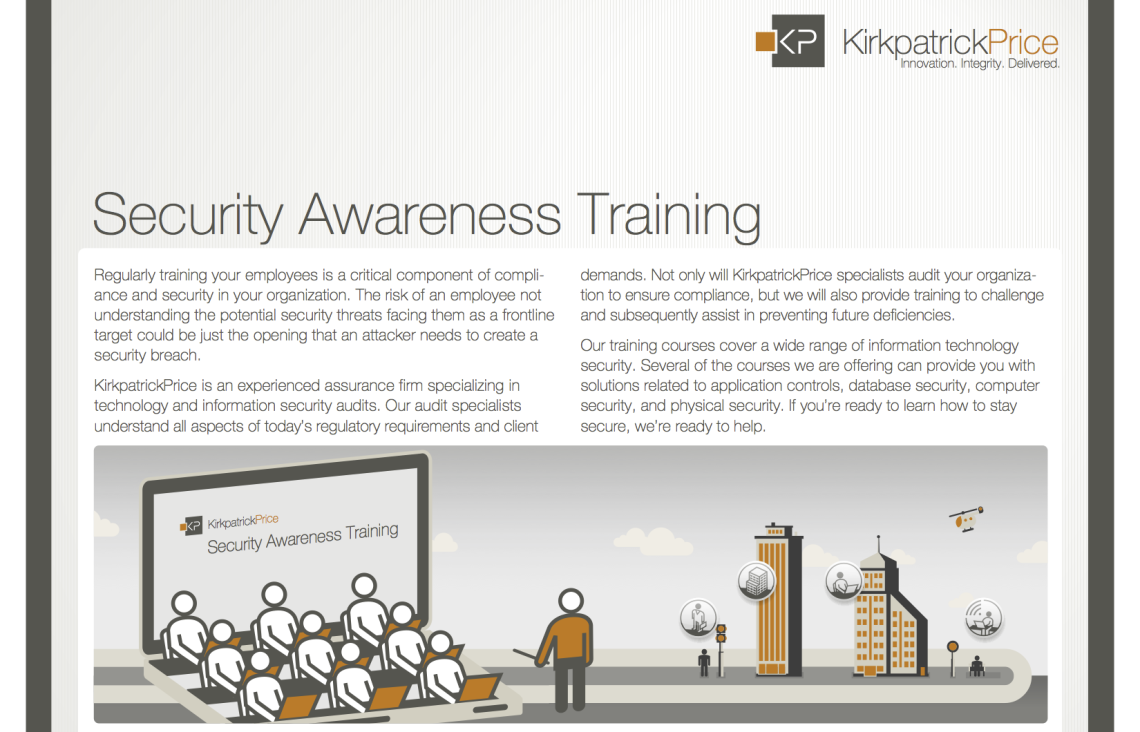 Security Awareness Training Info