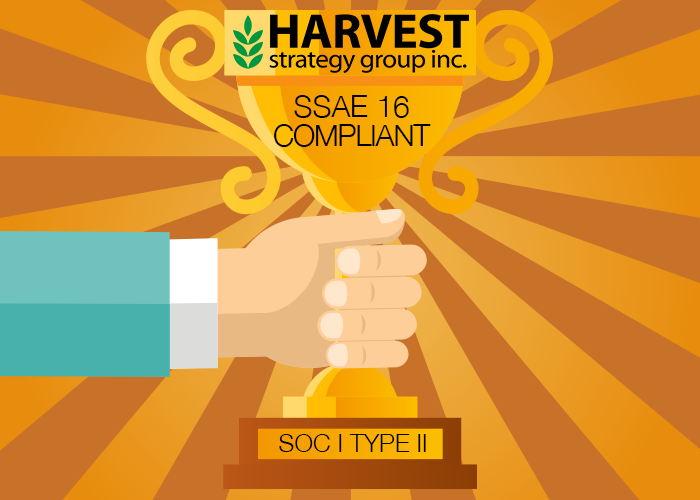 Harvest Becomes SSAE 16 Compliant with SOC I Type II