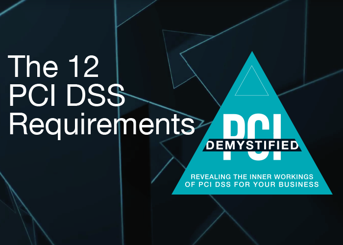 The 12 PCI DSS Requirements