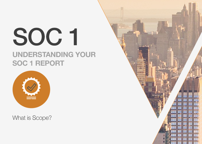 Understanding Your SOC 1 Report: What is Scope?