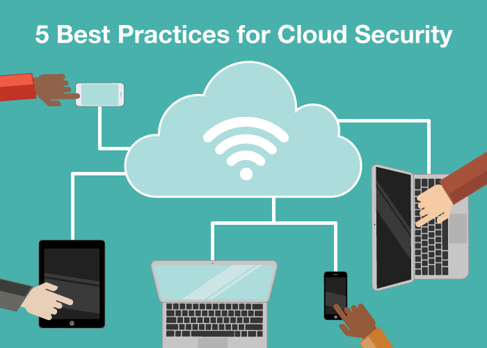 5 Best Practices for Cloud Security