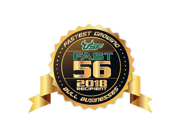 Joseph Kirkpatrick Receives USF Fast 56 Award