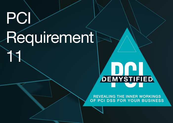 PCI Requirement 11 - Regularly Test Security Systems & Processes