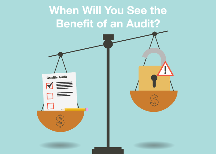 When Will You See the Benefit of an Audit?
