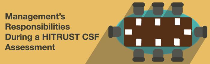 Management's Responsibilities During a HITRUST CSF Assessment