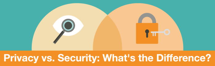 Privacy vs. Security: What's the Difference?