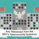 Key Takeaways from the SEC's Cybersecurity Guidance