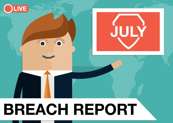 Breach Report 2019 - July