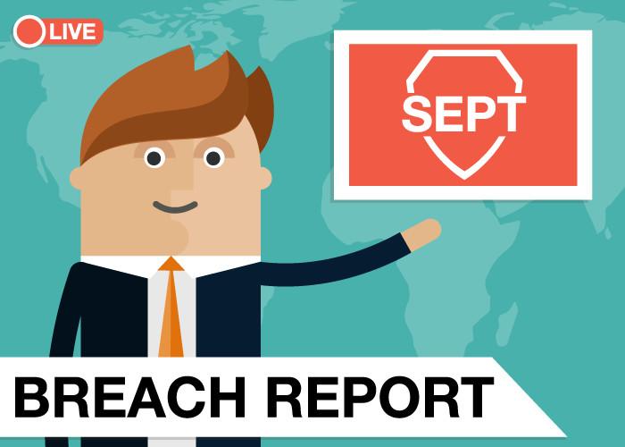 Breach Report September 2019