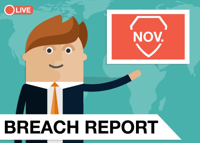 Breach Report November 2019