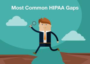 Most Common HIPAA Gaps
