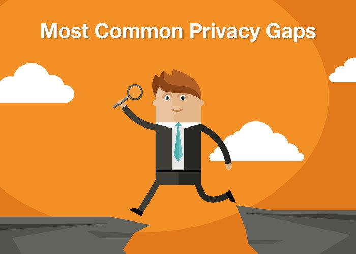 Most Common Privacy Gaps