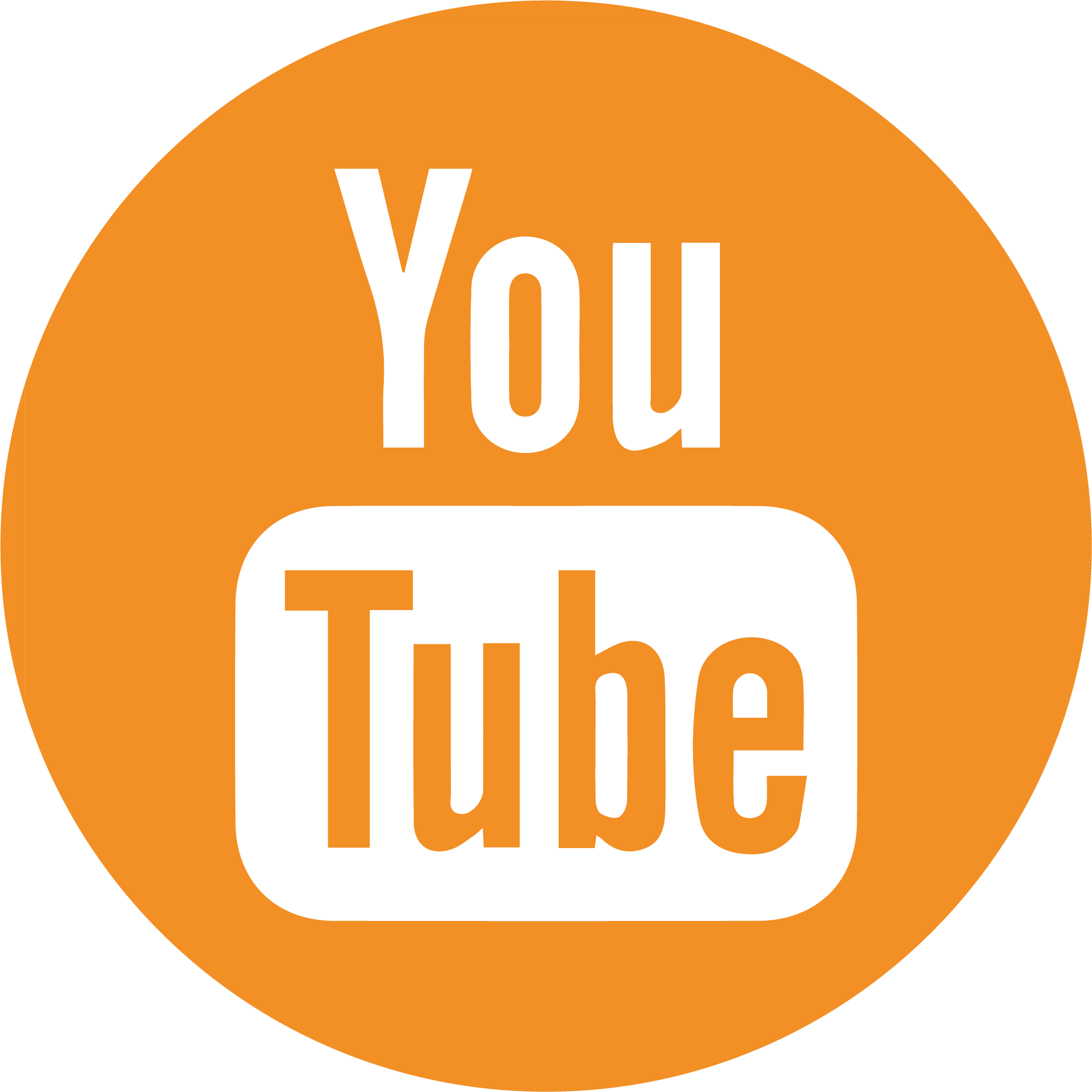YouTube social media button