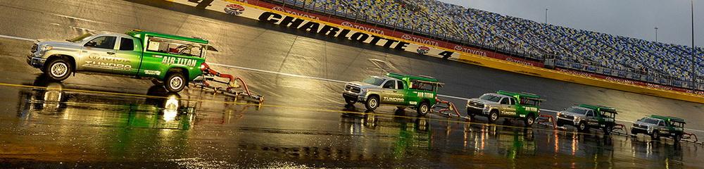 Chuva adia a Charlotte #2 para quinta-feira
