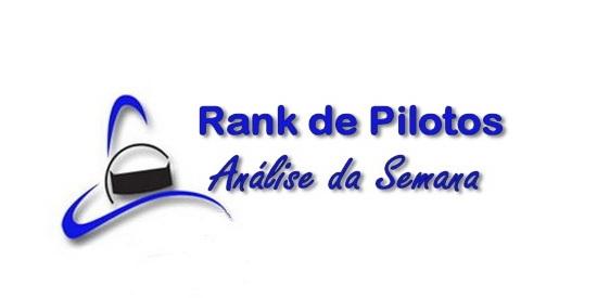 Análise da Semana do Rank de Pilotos