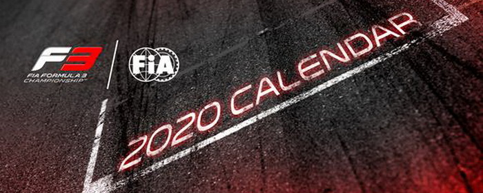F3 2020: Equipes, Pilotos e Calendário alterado