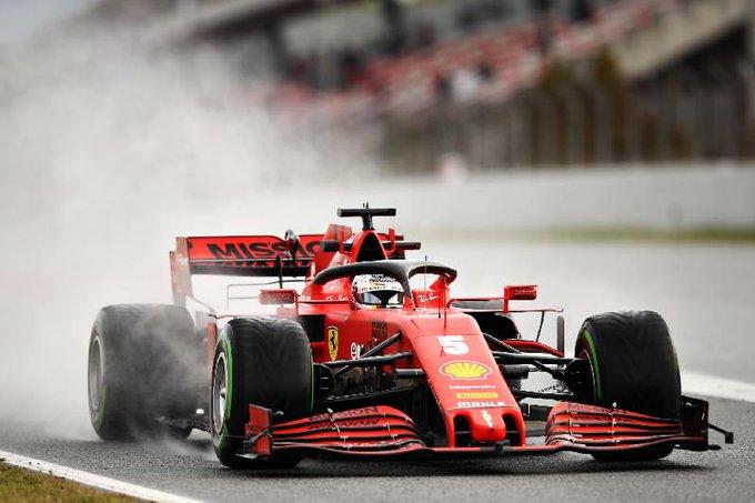 Testes da F1: Vettel foi o mais rápido do dia #4