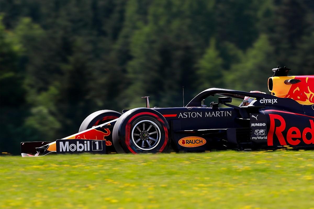 F1 na Estíria: Verstappen lidera o TL2