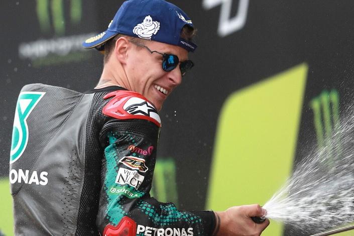 MotoGP: Quartararo vence o GP da Catalunha