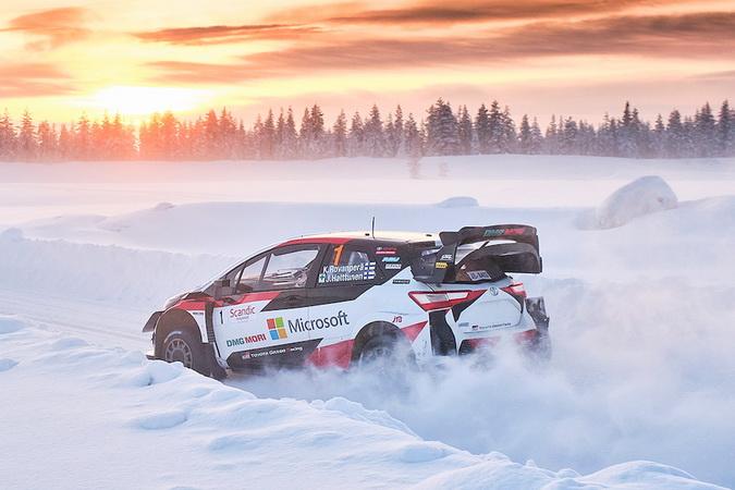 WRC 2021: Confirmado o Rali do Ártico em fevereiro