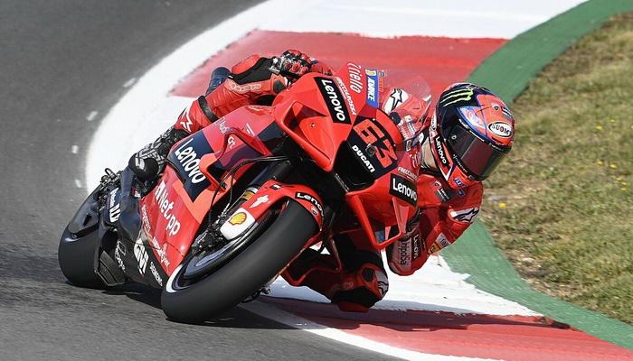 MotoGP: Bagnaia lidera TL2 no Algarve