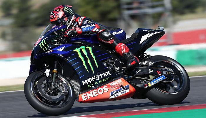 MotoGP: Quartararo larga da pole no Algarve