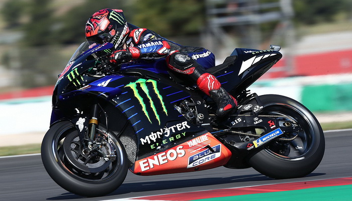 MotoGP: Quartararo larga da pole no Algarve