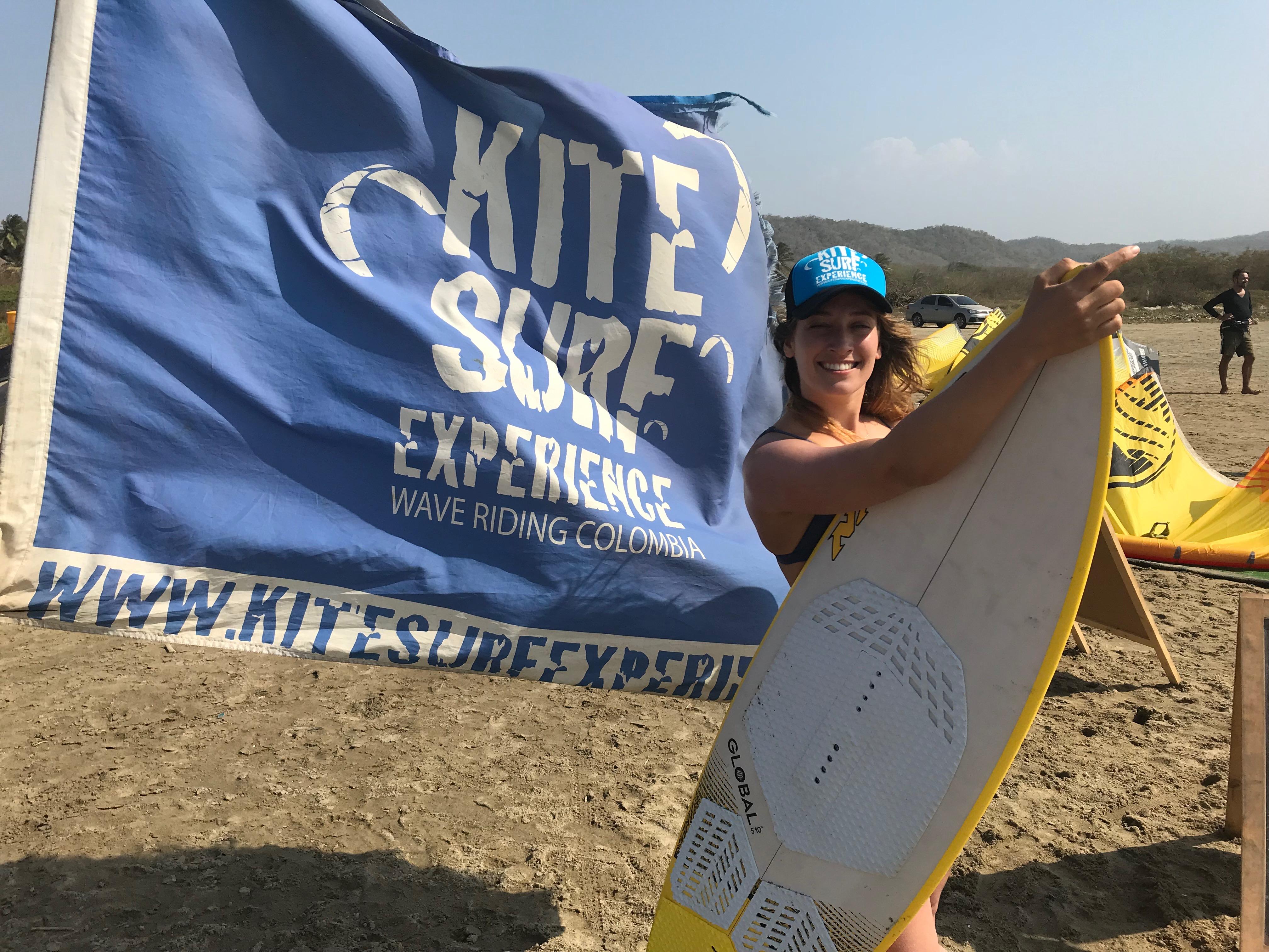 wave kitesurf salinas